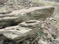 Добыча природного камня песчаника